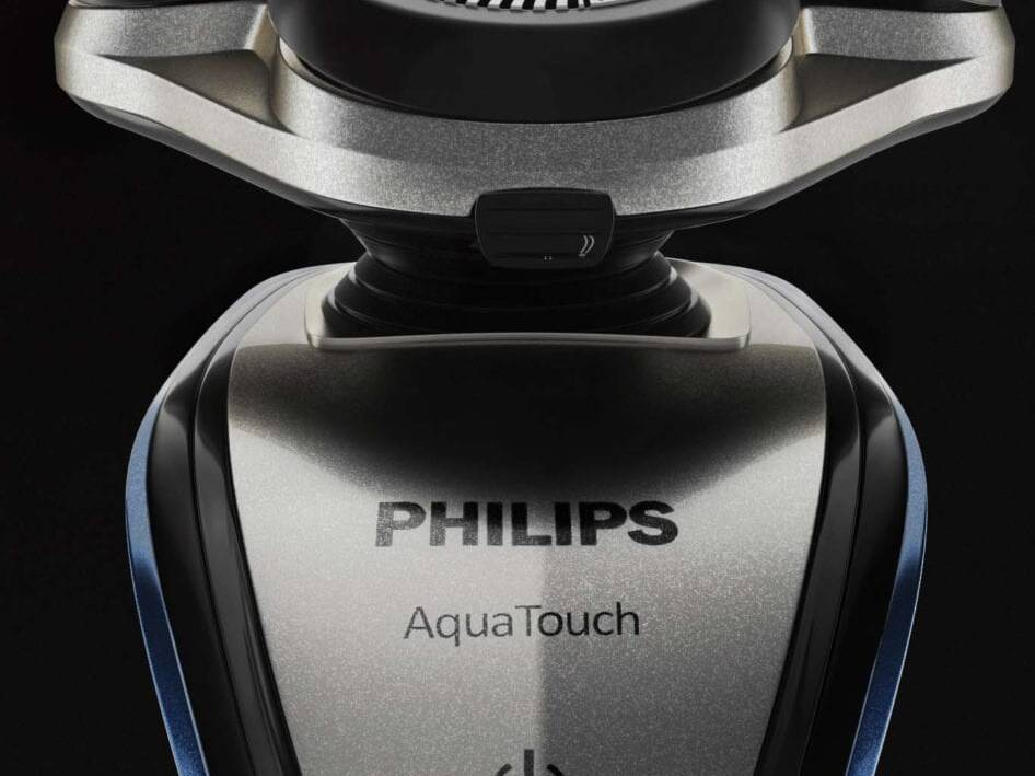 Philips Shaver 3D Visualization 02